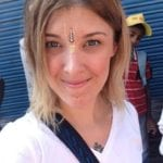 A photo of Sara Gestier, owner of The COllective Yoga studio